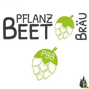 Pflanzbeet Bräu Logo