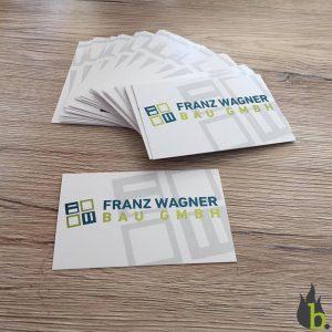 Franz Wagner Bau Visitenkarten