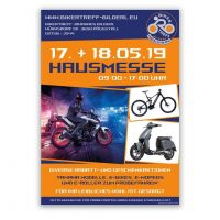 Plakat Hausmesse Bikertreff Bilderl