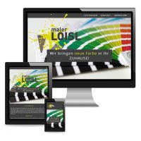 Website Maler Loisl